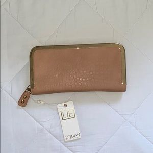 Cream and gold brand new never used wallet